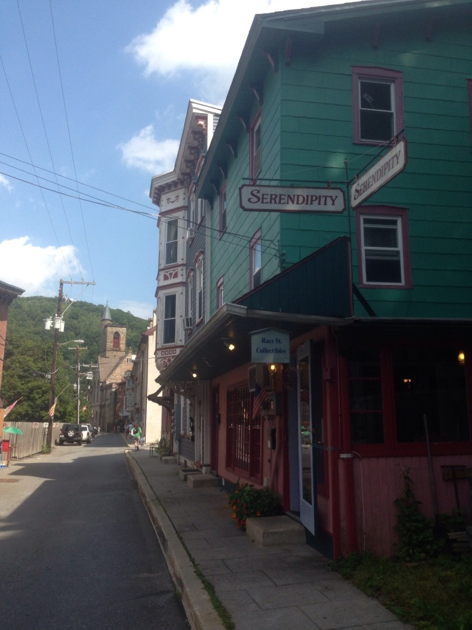 Do not miss going down Race Street in historic Jim Thorpe, PA.