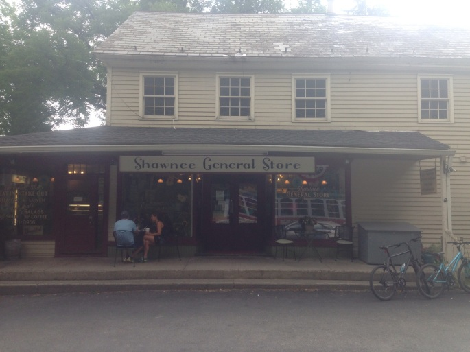 The Shawnee General Store is just one of the many charming places you'll encounter in the Delaware Water Gap region of the Poconos.