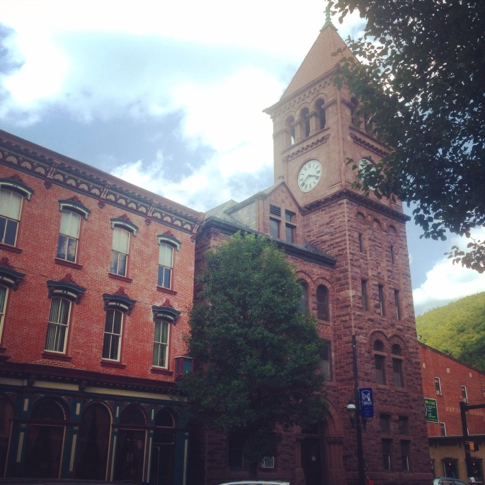One thing about Jim Thorpe is you have to look up, down, around and over to really find all the beauty, history and architecture in the town.