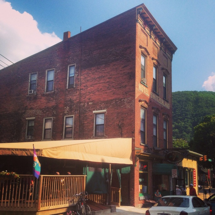 The Molly Maguires Pub and Steakhouse in Jim Thorpe, Pennsylvania.