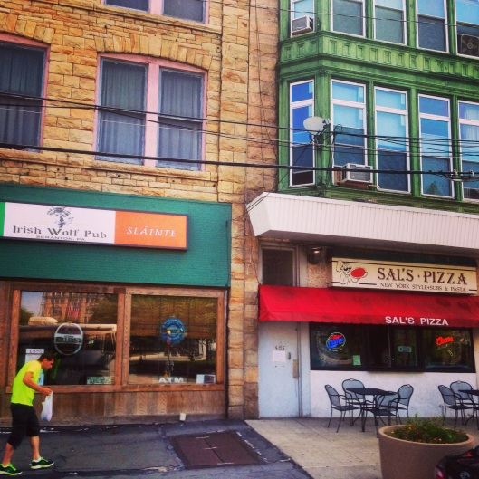 Lots of great little independent shops and restaurants are in Scranton.  Enjoy them - they are treasures to be found.