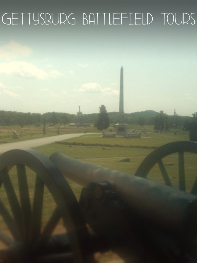 The tours of the battlefield make several stops along the way and each one is fascinating.