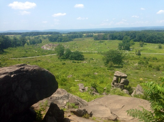 Some of the views are terrific when on the battlefield tours in Gettysburg.