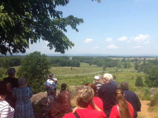 The tour guides on the Battlefield Tours are well trained and very interesting.
