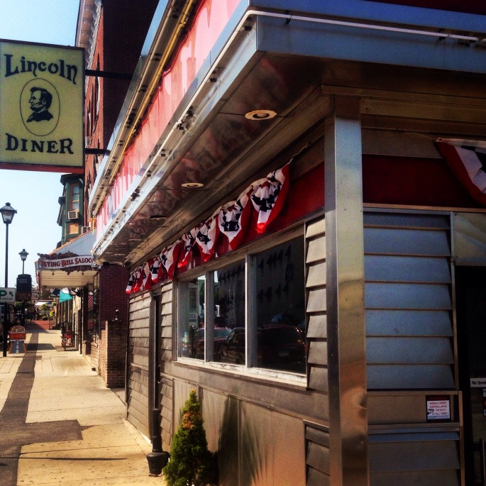 If you get hungry, you can always hit the Lincoln Diner in downtown Gettysburg.