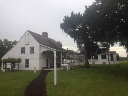 Many of the structures at Kingsley Plantation near Jacksonville are restored.