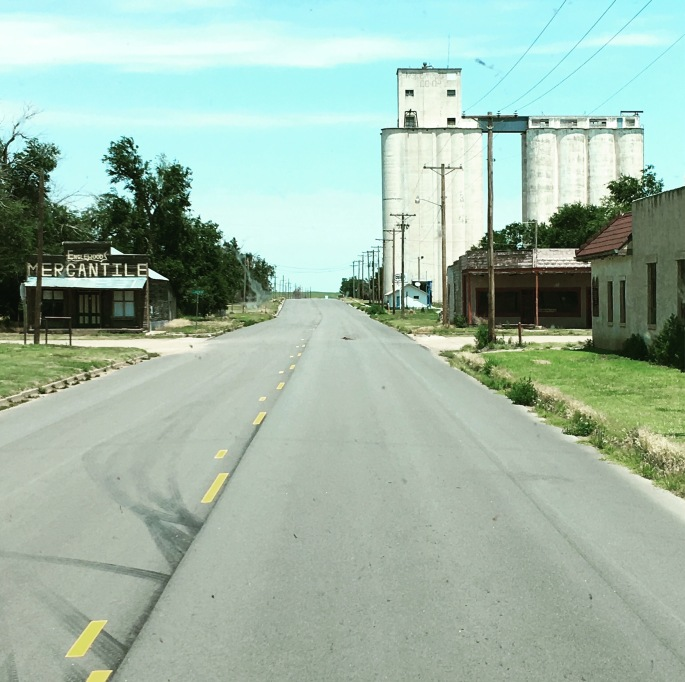Englewood, Kansas is a semi-ghost town.